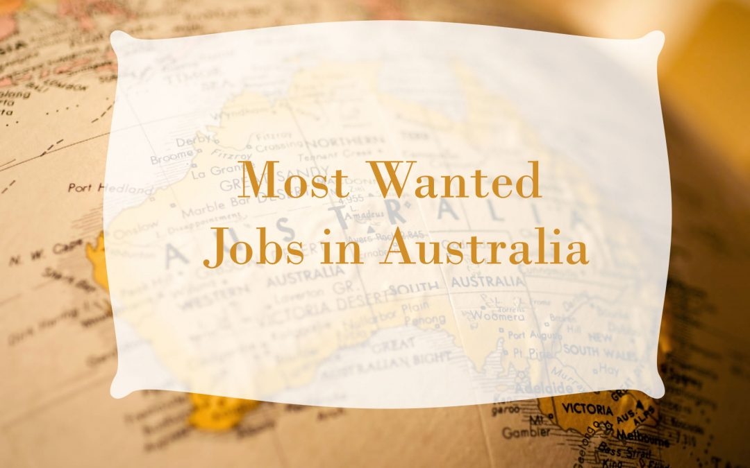 Most Wanted Jobs in Australia