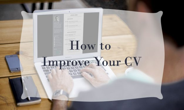 How to Improve Your CV